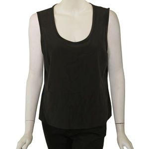 St. John Lightweight Dress Tank - Black - Size 10
